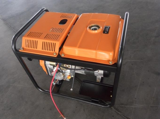 3KW AC Single Phase Open Frame Diesel Generators Hand Start System For Industrial