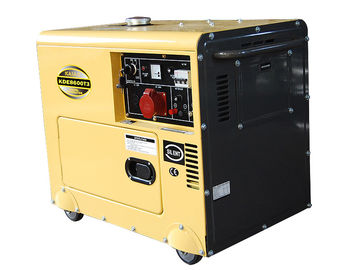 Trung Quốc Three Phase 6 Kva Small Portable Diesel Generators CE ISO Certification nhà cung cấp