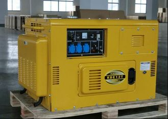 Trung Quốc KDE12T Air Cooled Silent Diesel Generator , Silent Power Generator Portable nhà cung cấp
