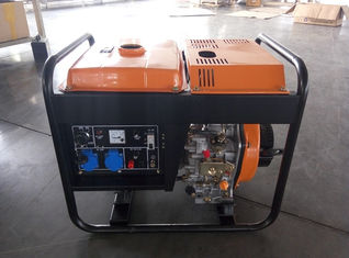 Trung Quốc AC Single Phase Open Diesel Generator 3KW Max Power , 640*480*530mm nhà cung cấp