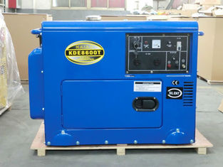Trung Quốc Industrial Air Cooled Quiet Diesel Generator With 3000 / 3600 Rpm Engine Speed nhà cung cấp