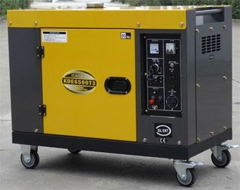 Trung Quốc 7kva New Type Silent Diesel Generator , Single Cylinder Diesel Generator nhà cung cấp