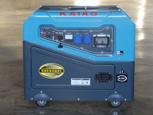 Trung Quốc Key Start Super Silent Type Diesel Generator With AVR For Hospital / School nhà cung cấp