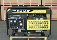 OHV 15kva 25L Fuel Tank Air cooled Gasoline Generator Low Oil Alarm System KGE18E