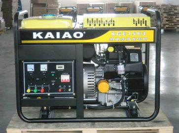 Trung Quốc KGE15E3 16kva Gasoline Power Generator Three Phase With Digital Control Panel nhà phân phối