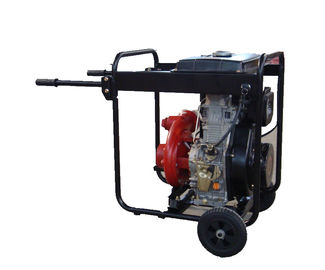 Trung Quốc Cast Iron High Pressure Water Pump Big Fuel Tank KDP30H With Handles And Wheels nhà phân phối