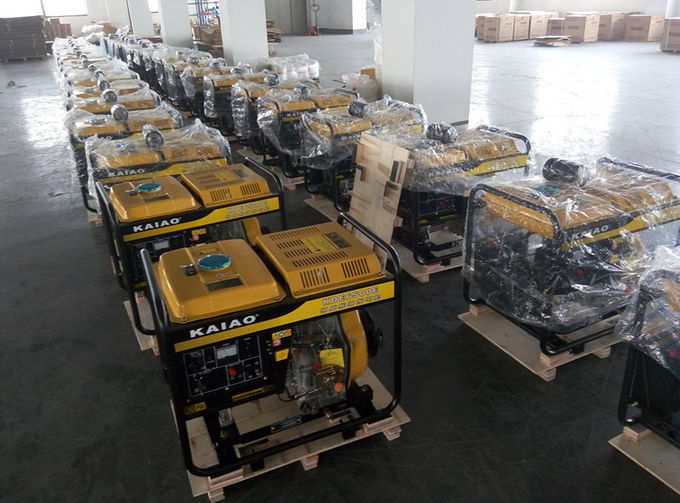 Professional Small Portable Diesel Generators Air Cooled CE Certification