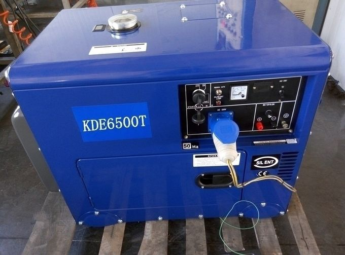 5kva Single Cylinder Diesel Generator ,  New Design Diesel Generator